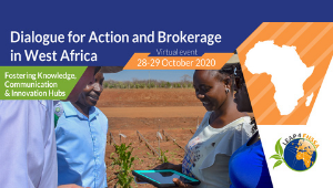 "Workshop ""Dialogue for action and Brokerage in West Africa"" 